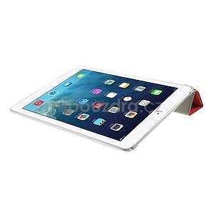 Origami ochranné puzdro pre Apple iPad Air - červené - 7