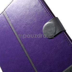 Daffi elegantné puzdro pre iPad Air 2 - fialové - 7