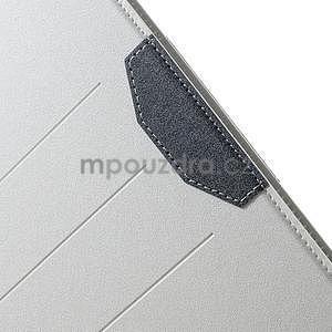 Elegant polohovateľné puzdro pre iPad Air 2 -  biele - 7