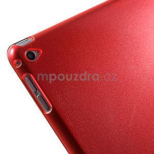 Trifold polohovateľné puzdro pre iPad Air 2 - červené - 7