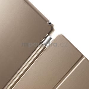 Trifold polohovateľné puzdro pre iPad Air 2 - champagne - 7