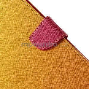 Excelent Diary puzdro pre iPad Air 2 - oranžový - 7