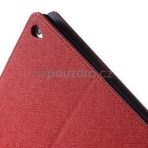 Excelent Diary puzdro pre iPad Air 2 - červené - 7