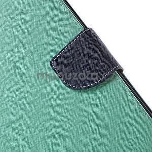 Excelent Diary puzdro pre iPad Air 2 - azúrové - 7