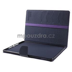 Excelent Diary puzdro pre iPad Air 2 - fialové - 7