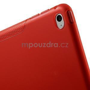 S-line gélový obal pre iPad Air 2 - červený - 7