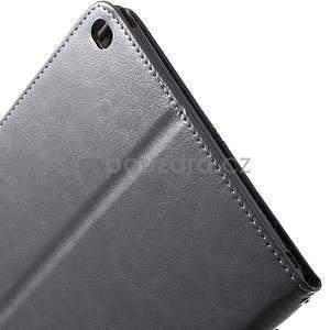 Daffi elegantné puzdro na iPad Air 2 - šedé - 7
