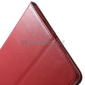 Daffi elegantné puzdro na iPad Air 2 - červené - 7