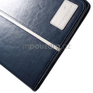 Daffi elegantné puzdro pre iPad Air 2 - tmavomodré - 7