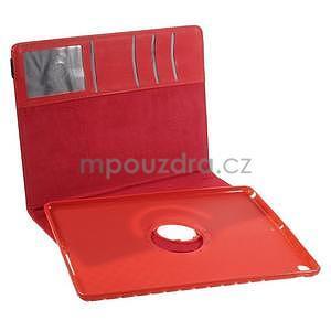 Circ otočné puzdro pre Apple iPad Air - červené - 7