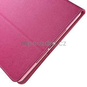 Diary peňaženkové puzdro na iPad Air - rose - 7