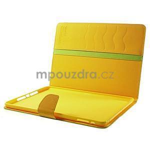 Diary peňaženkové puzdro na iPad Air - zelené - 7