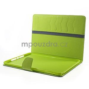 Diary peňaženkové puzdro na iPad Air - tmavomodré - 7