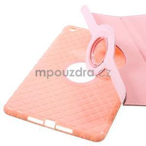 Circu otočné puzdro na Apple iPad Mini 3, iPad Mini 2 a ipad Mini - ružové - 7
