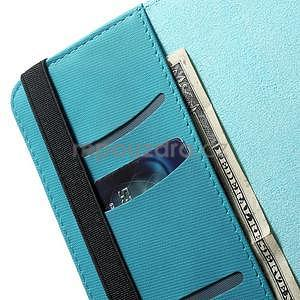 Circu otočné puzdro pre Apple iPad Mini 3, iPad Mini 2 a ipad Mini - modré - 7