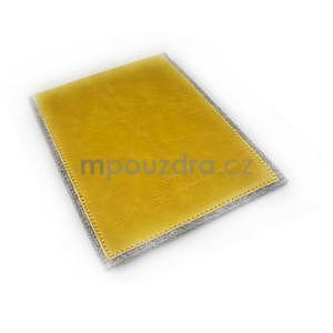 Envelope univerzálne púzdro na tablet 22 x 16 cm - žlté - 7