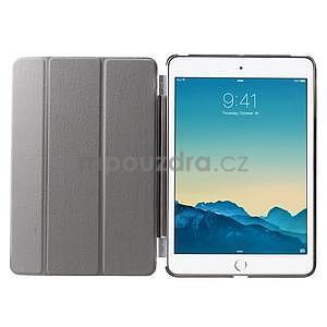 Classic tří polohové puzdro na iPad Mini 3, ipad Mini 2 a na iPad Mini -  čierne - 7
