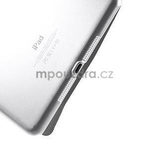 Classic troj polohové puzdro pre iPad Mini 3, ipad Mini 2 a na iPad Mini -  biele - 7