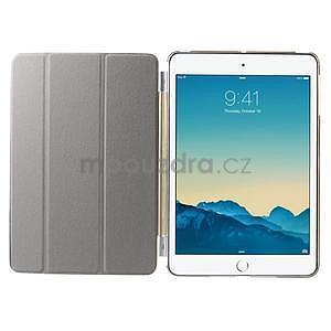 Classic tří polohové puzdro na iPad Mini 3, ipad Mini 2 a na iPad Mini -  champagne - 7