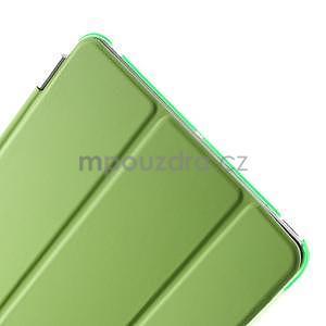 Classic troj polohové puzdro pre iPad Mini 3, ipad Mini 2 a na iPad Mini -  zelené - 7