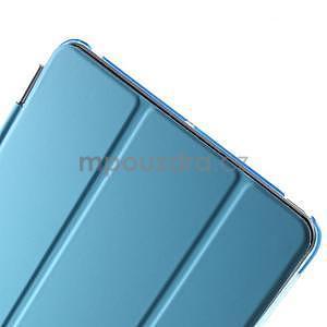 Classic tří polohové puzdro na iPad Mini 3, ipad Mini 2 a na iPad Mini -  modré - 7