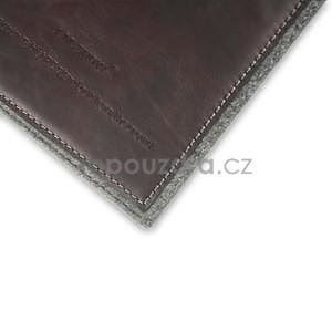 Envelope univerzálne púzdro na tablet 22 x 16 cm - coffee - 7
