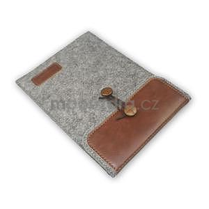 Envelope univerzálne púzdro na tablet 22 x 16 cm - hnedé - 7