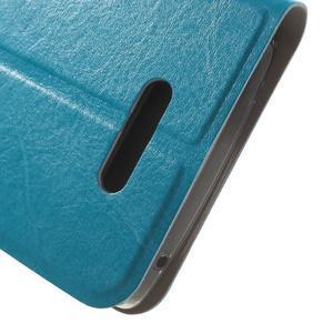 Horse peňaženkové puzdro pre Lenovo A2010 - modré - 7