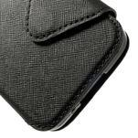 Peňaženkové puzdro s okienkom pro Samsung Galaxy S5 mini -  čierne - 7/7