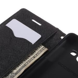 Mr. Fancy koženkové puzdro na Samsung Galaxy A5 - čierné - 7