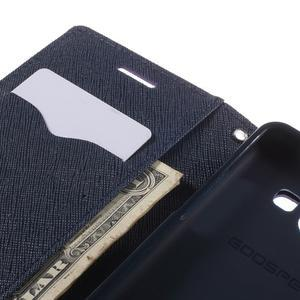 Mr. Fancy koženkové puzdro na Samsung Galaxy A5 - fialové - 7
