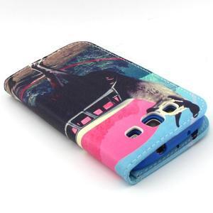 Peňaženkové puzdro pre mobil Samsung Galaxy S3 - lama - 7