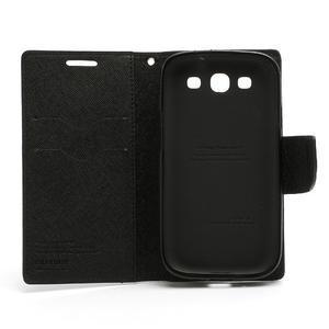 Mr. Fancy koženkové puzdro na Samsung Galaxy S3 - čierné - 7