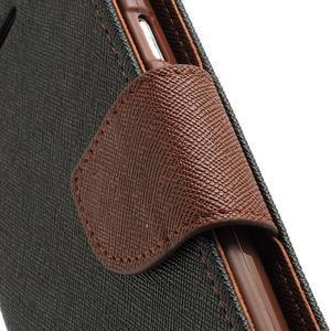 Mr. Fancy koženkové puzdro pre Samsung Galaxy S3 - čierné/hnedé - 7
