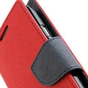 Mr. Fancy koženkové puzdro na Samsung Galaxy S3 - červené - 7
