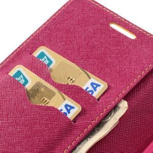 Goosp PU kožené puzdro na Samsung Galaxy Note 3 - žlté - 7
