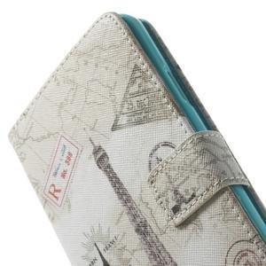 Peňaženkové puzdro na mobil Samsung Galaxy Note 3 - Eiffelova veža - 7