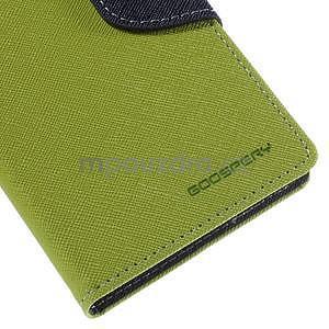 Ochranné puzdro pre Sony Xperia M4 Aqua - zelené/tmavomodré - 7