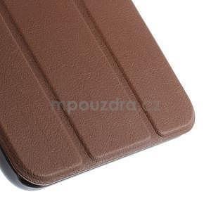 Supreme polohovateľné puzdro pre tablet Asus Memo Pad 7 ME176C - hnedé - 7