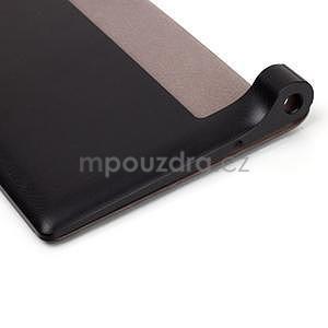 Koženkové puzdro pre Lenovo Yoga Tablet 2 8.0 - čierne - 7