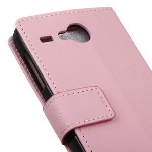 Gregory peňaženkové puzdro pre Acer Liquid Z520 - ružové - 7