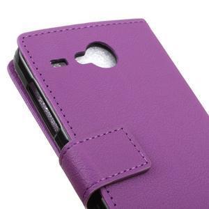 Gregory peňaženkové puzdro pre Acer Liquid Z520 - fialové - 7