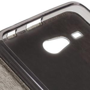 Lines pouzdro na Acer Liquid Z520 - tmavěmodré - 7