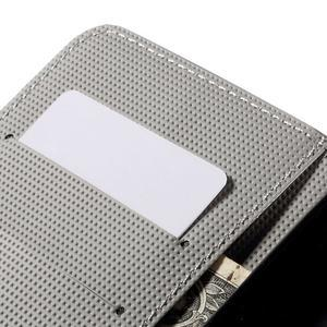 Nice koženkové pouzdro na mobil Acer Liquid Z520 - červené květy - 7