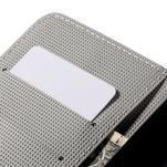 Nice koženkové puzdro pre mobil Acer Liquid Z520 - červené kvety - 7/7