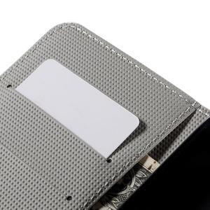 Nice koženkové puzdro pre mobil Acer Liquid Z520 - trojújelníky - 7