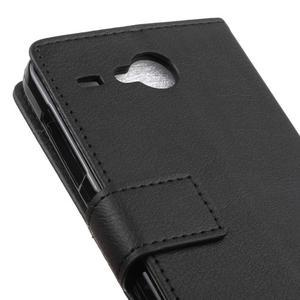 Gregory peňaženkové puzdro pre Acer Liquid Z520 - čierné - 7