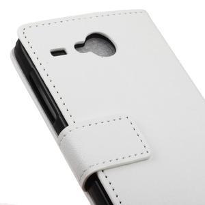 Gregory peňaženkové puzdro pre Acer Liquid Z520 - biele - 7