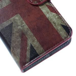 Valet peňaženkové puzdro pre Acer Liquid Z530 - UK vlajka - 7