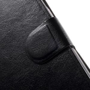 Horse peňaženkové puzdro pre mobil Acer Liquid Z530 - čierné - 7